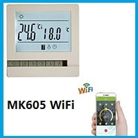 WIFI MK605 thermostat