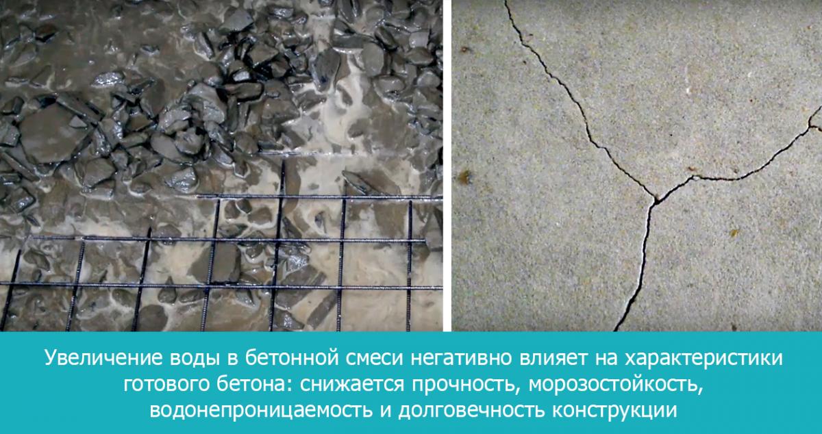 Морозостойкость водонепроницаемость бетона нормы расхода бетонной смеси при укладке